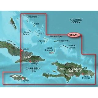 """""""Garmin Bluechart g2 HUS029R (microSD/SD Card) Garmin Bluechart G2 - HUS029R - Southern Bahamas - Data Card"""""""