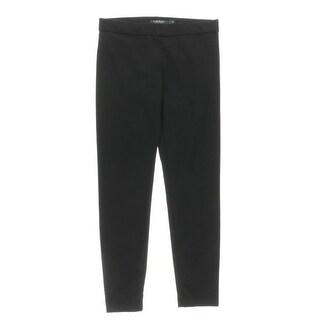 Lauren Ralph Lauren Womens Basek Pants Twill Flat Front