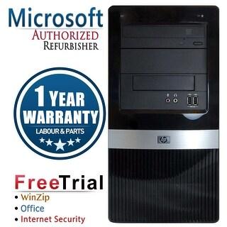 Refurbished HP Pro 3130 Tower G6950 2.8G 4G DDR3 250G DVD Win 10 Pro 1 Year Warranty - Black