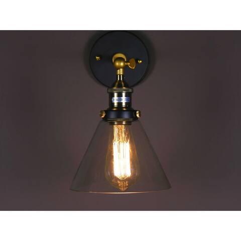 Lilo Glass Antique Edison Light