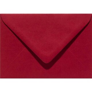Christmas Red - Papicolor A6 Envelopes 6/Pkg