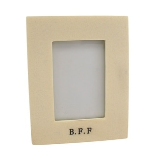 B.F.F Museum White 2 X 3 Picture Frame Best Friends