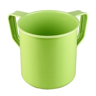 """Mini Washing Cup  Stainless Steel Green  3.5"""""""