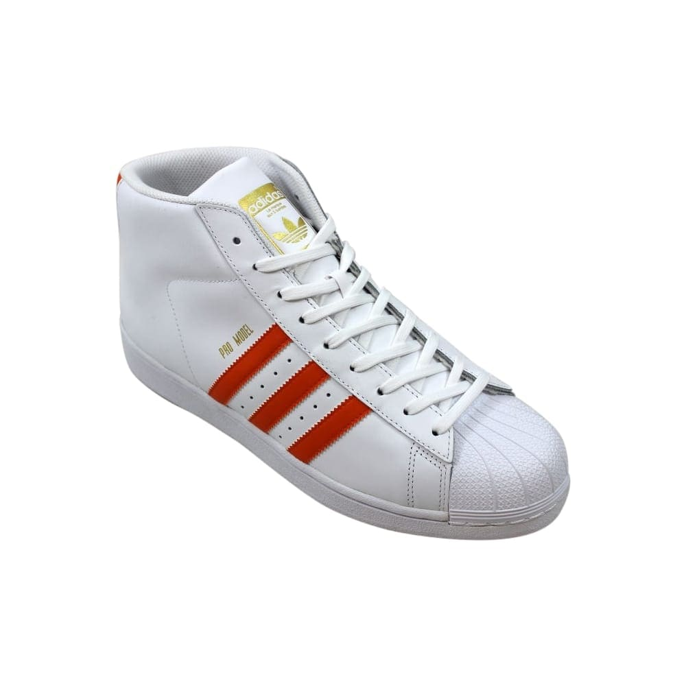 Adidas Pro Model White/Energy Orange