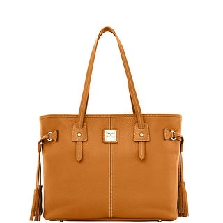 Dooney & Bourke Pebble Grain Leather Davis Tote (Introduced by Dooney & Bourke at $268 in Sep 2013) - Camel