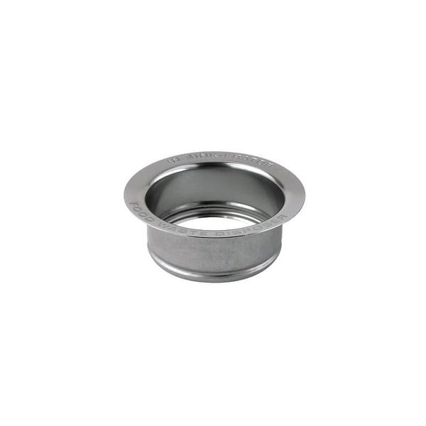 Insinkerator Flg Ss Lg Extended Sink Disposal Stainless Steel N