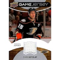 Signed Getzlaf Ryan Anaheim Ducks Ryan Getzlaf 201213 Upper Deck Series One Game Jersey Unsigned Ho
