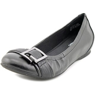 Abella Clara Women  Round Toe Synthetic Black Flats