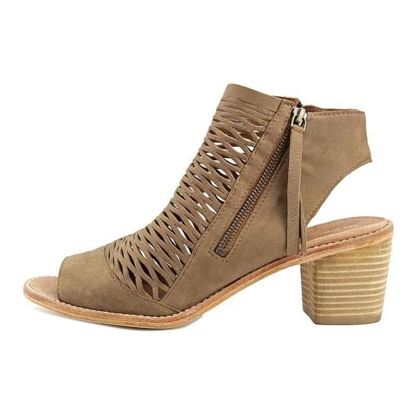 Diba True Womens Close Doors Leather Open Toe Casual Slingback Sandals - 10
