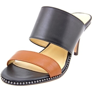 Coach Willa   Open Toe Leather  Sandals