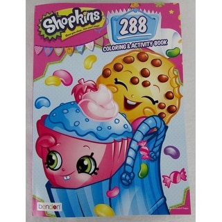 Shopkins 288pg Coloring & Activity Book
