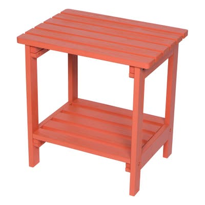 24 inch Rectangular Side Table with HYDRO-TEX finish