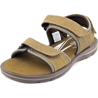 Rockport XCS Gyks Qtr Strap Men Open-Toe Leather Tan Sport Sandal