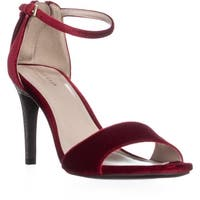 Cole Haan Clara Grand Ankle-Strap Dress Sandals, Red - 8.5 us