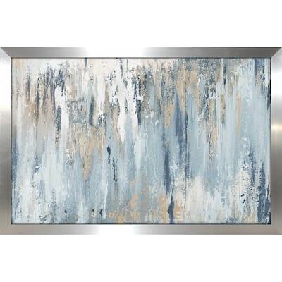 Blue Illusion' Print on Framed Acrylic
