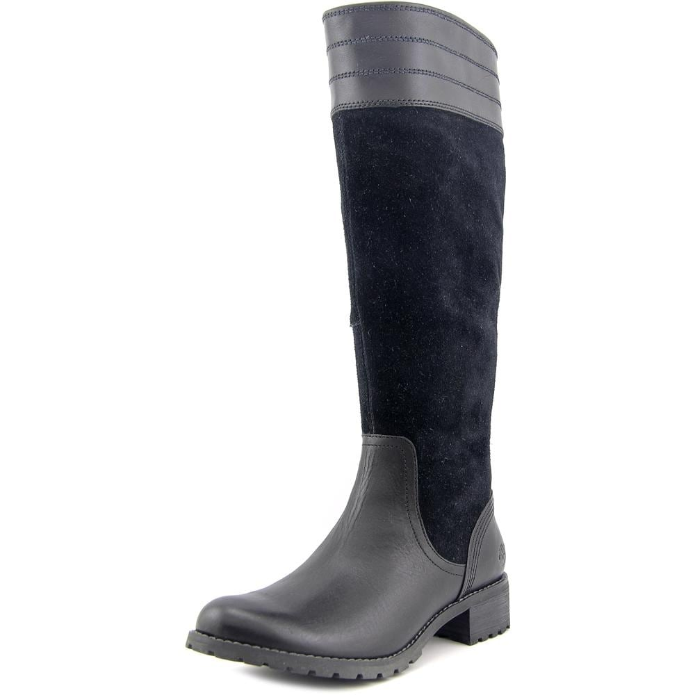 new cheap finest selection outlet store Timberland Bethel Tall Women Round Toe Leather Knee High Boot