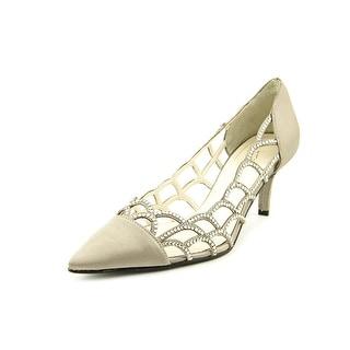 Caparros Noreen Pointed Toe Canvas Heels