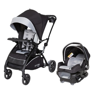 Link to Sit N Stand® 5-in-1 Shopper Travel System,Moondust - Double Stroller Similar Items in Strollers