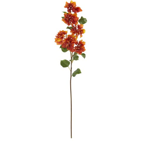 """37"""" Bougainvillea Artificial Flower (Set of 4) - Height: 37 In."""
