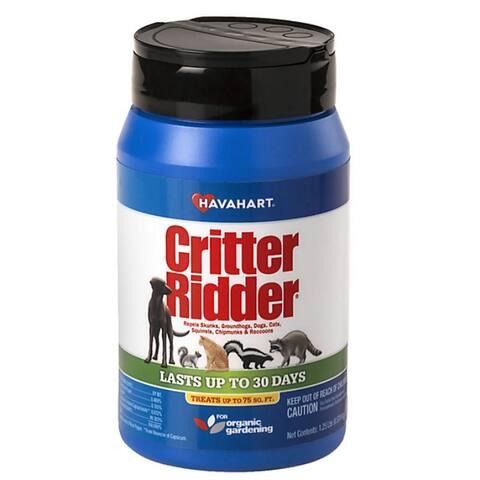 Havahart 3141 Critter Ridder Animal Repellent Granular, 1.25 lbs