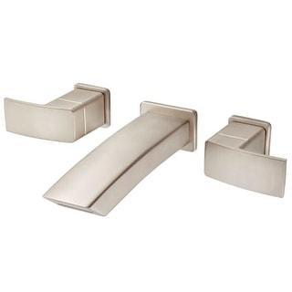 Pfister LG49-DF3 Kenzo Wall Mounted Bathroom Faucet - Less Valve