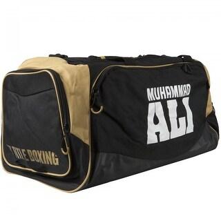 Title Boxing Muhammad Ali Super Sport Gear Duffel Bag - Black/Gold