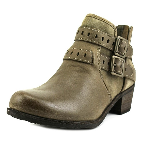Ugg Australia Patsy Women Round Toe Leather Brown Ankle Boot