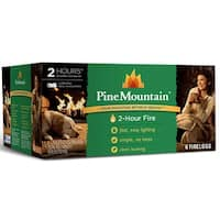 Pine Mountain 4152501201 Two-Hour Firelogs, 6-Pack