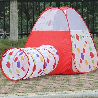 Kids Children Play Tent Girls Pop Up Play House Tunnel House Size 39.37 x39 & Playhouses u0026 Play Tents For Less | Overstock.com