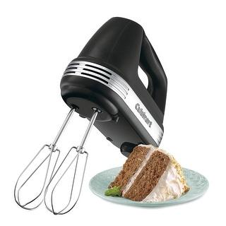 Cuisinart HM-50BK Power Advantage 5-Speed Hand Mixer, Black