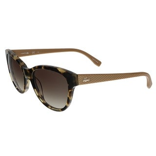 Lacoste L785/S 218 Tortoise Cat Eye sunglasses Sunglasses - 55-17-140