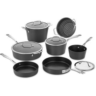 Cuisinart 62I-11 11 Piece Conical Hard Anodized Cookware Set