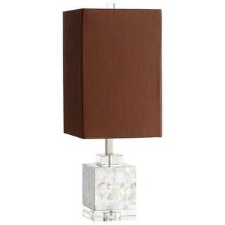 Cyan Design 5567 Johor 1 Light Table Lamp - silver grey smoke