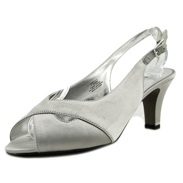 David Tate Pretty Women Silver Sandals