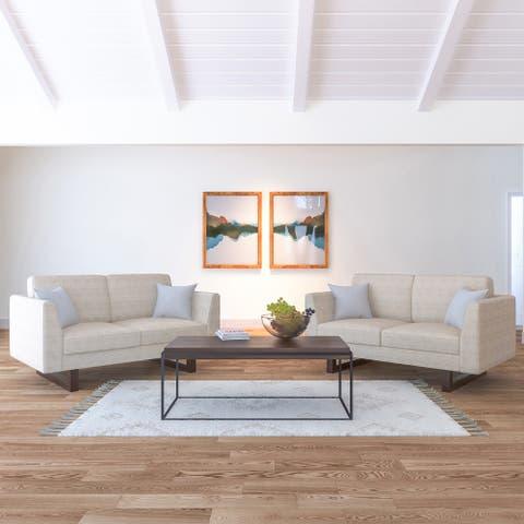 Hayden 2 Loveseat Sofa set