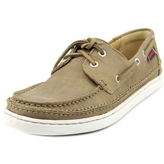 Sebago Ryde Two Eye Men  Moc Toe Leather  Boat Shoe
