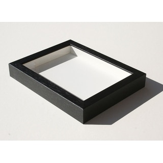 "Pandora Wood Shadow Box - Black (8x10"")"
