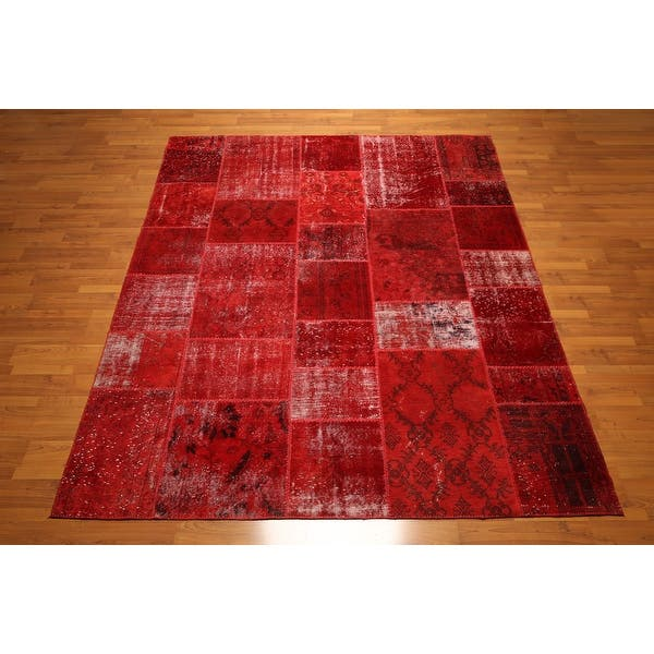 Shop For Hand Knotted Red Rust Burgundy Multi Oriental Rug Wool Traditional Oriental Area Rug 8x10 8 X 10 Get Free Shipping On Everything At Overstock Your Online Home Decor Outlet Store Get 5 In Rewards With Club O 31302076