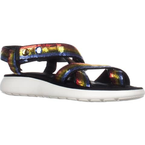 Marc Jacobs Comet Sport Sandals, Rainbow