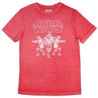 Star Wars Storm Trooper Soldier Outline Mens T-Shirt