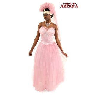 Coming to America Wedding Dress