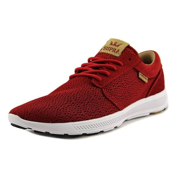 cddaffe1919c Shop Supra Hammer Run Men Red Tan-White Running Shoes - Free ...