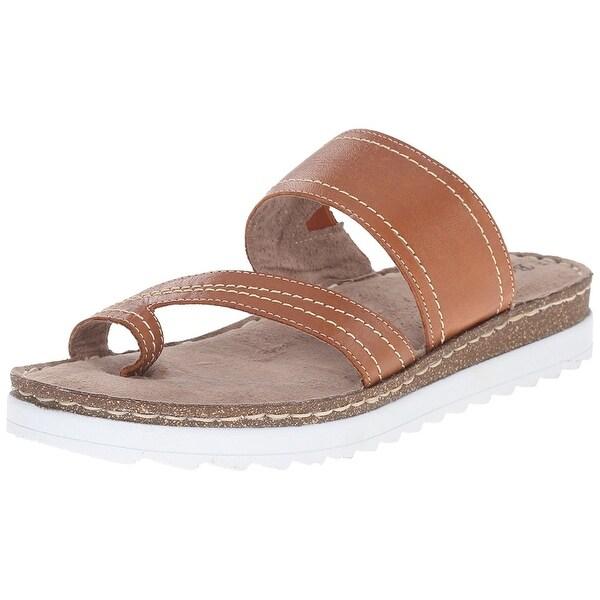 Bella Vita Womens Tivoli Open Toe Beach Slide Sandals