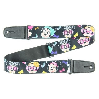 Walt Disney Minnie Mouse Expressions Guitar Strap