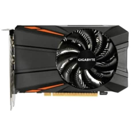 Gigabyte Video Card GV-N105TD5-4GD GTX 1050 Ti 4GB GDDR5 128Bit DL-DVI-I/HDMI/DisplayPort Retail