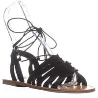 Indigo Rd. Baku Strappy Sandals, Black