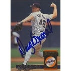 Doug Brocail San Diego Padres 1994 Donruss Autographed Card This item comes with a certificate of authenticity from A