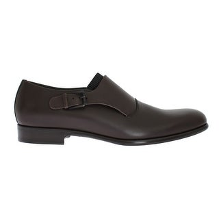 Dolce & Gabbana Dolce & Gabbana Brown Leather Loafers Shoes
