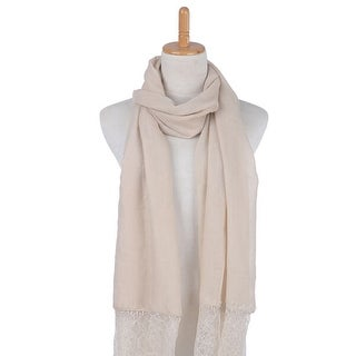 Mad Style Cream Linen & Lace