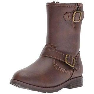 Kids Carter's Girls aqion2 Mid-Calf Zipper Riding Boots - 12.0 m us toddler